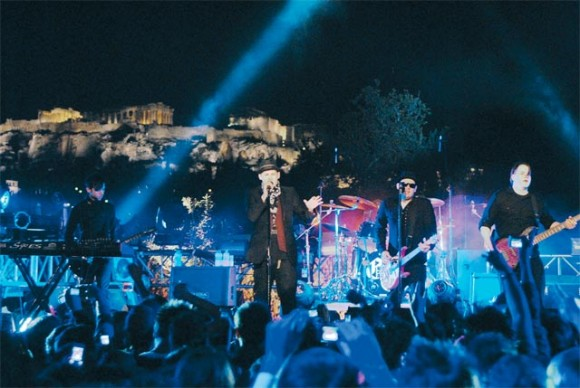 "Acropolis Frames TV Award: Greece's winning entry at the New York Festival's International Television Programming & Promotion Awards 2009 comprised a ""rockumentary"" on the U.S. music group Good Charlotte's 48-hour stay in Athens and their live performance with the Acropolis as a backdrop. MAD TV competed against CNN, CBC, ESPN, The History Channel and several other international television channels."