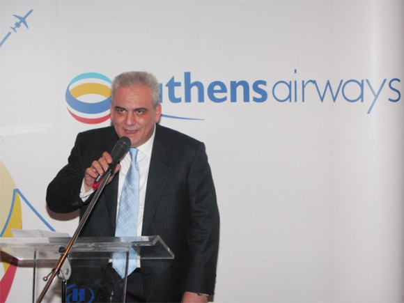 "We will fly to destinations that are not serviced adequately nor frequently, initially within Greece and very soon abroad,"" said Athens Airways owner and CEO, Sakis Andrianopoulos, at the presentation of the carrier's program and services."
