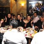 Danae Group's staff on vasilopita - cutting party.