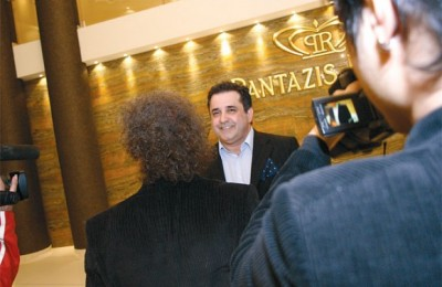 "General manager of the Pantazis group, Antonis Pantazis, told journalists ""Opening a conference center in Argolis was a lifelong dream."""
