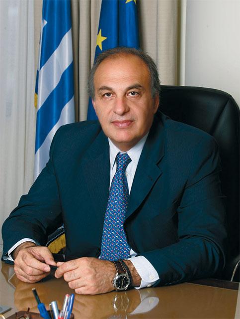 Athanasios Oikonomou, President, Greek National Tourism Organization.