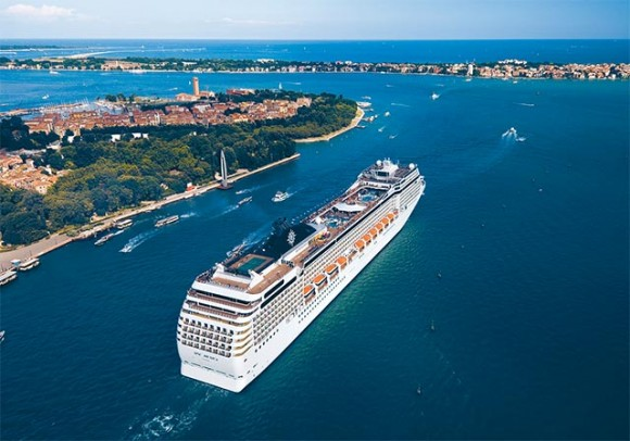 One of the two new ships of MSC Cruises.