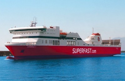 Superfast I Delivered to Patras Port.