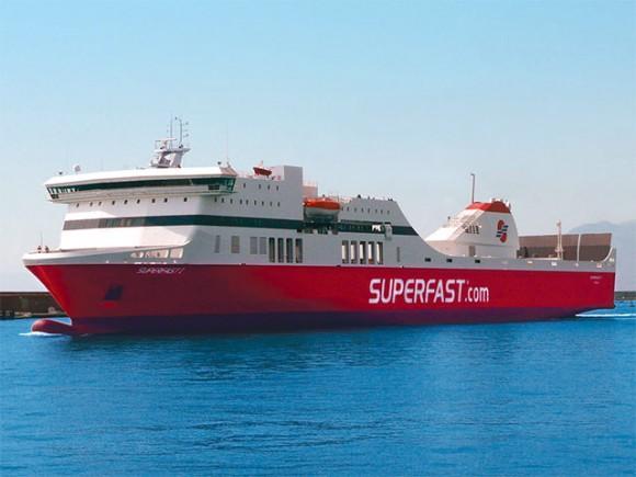 Superfast I Delivered to Patras Port.