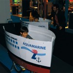 """Louis Hellenic Cruises provided much entertainment to children with the two model 'boats' from its fleet, the """"Aquamarine"""" and """"Cristal,"""" on which young contestants raced for prizes."""