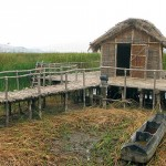 A specially designed area that is the exact representation of the Dispilio lake settlement (5500 BC) that contains huts, 'furnished' with exact replicas of ancient utensils and household equipment.