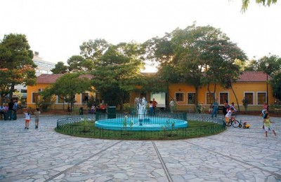 Revamped Square in Votanikos