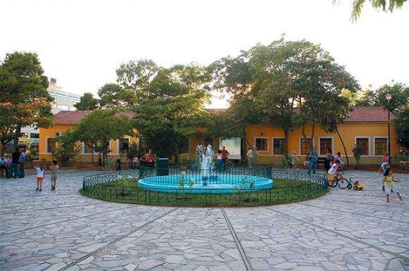 Revamped Square in Votanikos