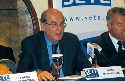 Nikos Aggelopoulos, President of Association of Greek Tourism Enterprises.