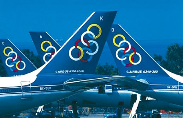 Olympic Airlines aircrafts