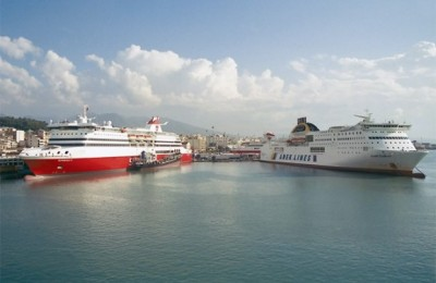 Measures for development of Patras port