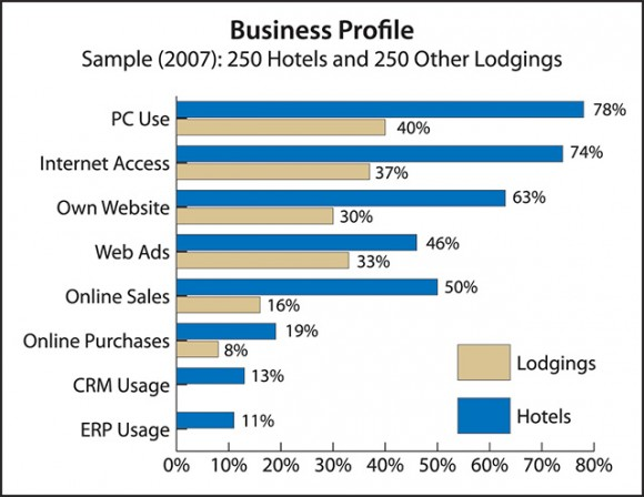 Business Profile Sample (2007): 250 Hotels & 250 Other Lodgings