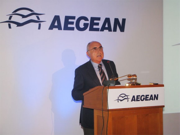 """The party is just starting,"""" Aegean Airlines President Theodoros Vasilakis said in reference to MIG President Andreas Vgenopoulos' negative remarks in regards to Aegean Airlines being dubbed the second airline company to serve flights to Istanbul."""