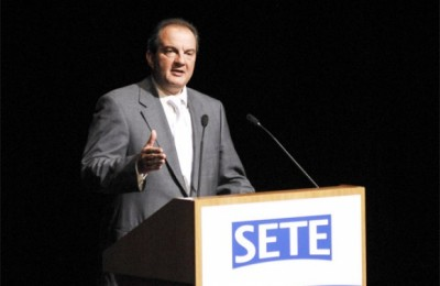 Environmental concern was one of the key issues in the PM Costas Karamanlis's speech at the 15th general assembly of SETE.