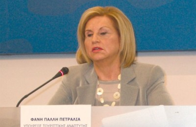 Tourism Development Minister, Fanni Palli-Petralia