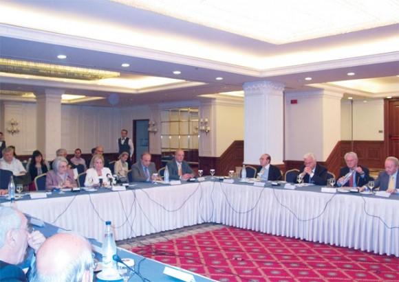 Tourism Development Minister Fanni-Palli Petralia at the recent National Tourism Council meeting.