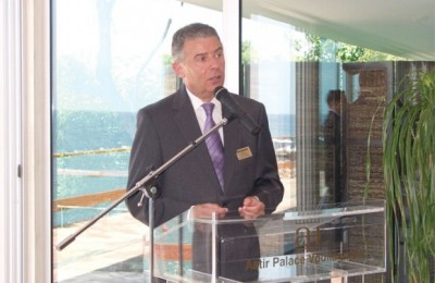 Edmond Pinczowski, the Astir Beach Hotel complex manager.