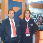 Yiannis Missias, Sixt Rent a Car's sales and marketing manager pictured with Alexandra Tataraki, assistant sales and marketing manager. Sixt Rent a Car Greece won first prize, out of the 85 countries Sixt operates in, for the best online marketing activities in 2006.