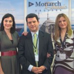 Dr. Pythagoras Nagos, Monarch Classic Cruises' vice-president for marketing and international sales. The company is adding a second cruise ship, the Ocean Countess, for three and four day cruises in the Aegean.