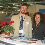 Markus Penz, Vienna Tourist Board's market manager for central and eastern Europe with Sabine Enthammer, Austrian Tourism Board's manager for marketing and media.
