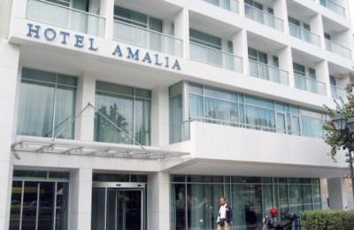 Amalia Hotel in Syntagma, Athens.
