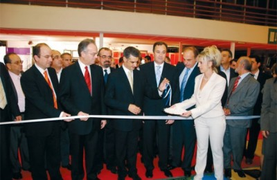 The official opening ceremony for Filoxenia 2007 began with the arrival of Greek Tourism Development Minister Aris Spiliotopoulos.