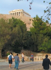 Acropolis is the top sightseeing site among the Athens' visitors.