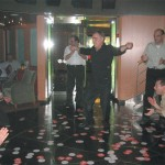 Like Panagiotis Zerzivillis of Aktina Travel, along with work, sustenance and a familiarization tour, the Greek travel agents and SkyTeam representatives found ample time to take the opportunity to display some fancy footwork on the dance floor.