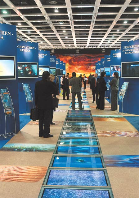 A stream of delightful holiday impressions leads visitors to the 40th International Tourism Exchange ITB Berlin 2006 to discover the various regions of Greece. Greece was the official partner country at this year's ITB.