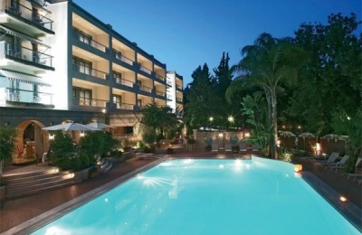Rodos Park Suites, awarded as the best city hotel in Greece.