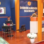 Rodos-based Dodekanisos Seaways, founded in 1999 to join the 12 islands of the Dodekanisos group with fast catamaran services, promoted its new passenger ferry, the 341-seat Dodekanisos Pride, during the fair.