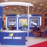 Chania-based Anek Lines, founded there in 1967, presented its 10 ferry vessels that sail both the domestic routes from Crete to Piraeus and Greece-Italy routes. The company recently sold its RoRo vessel Aptera.