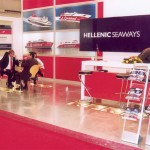 Hellenic Seaways (Flying Dophins) continued its rise in the marketplace with a fine presentation at this year's fair. The ferry line received Helexpo's best creative award for its stand.