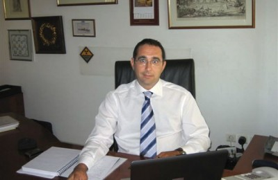 Antonio Temporini, Alitalia's new regional manager for southeast Europe.