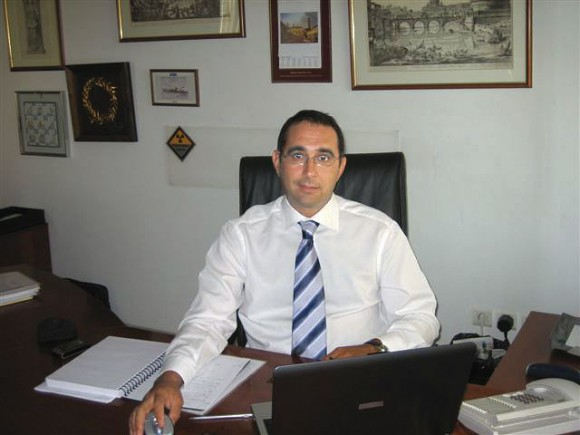 Antonio Temporini, Alitalia's new regional manager for southeast Europe.