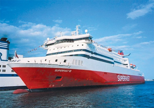 "Superfast Ferries scoops ""Best Ferry"" award"