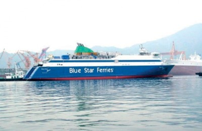Blue Star Ferries Back in the Black