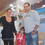 The Ios stand received additional promotional assistance this year during all the days of Philoxenia as the island's promotional specialist, Kostas Rodopoulos, was accompanied by his wife and daughter.