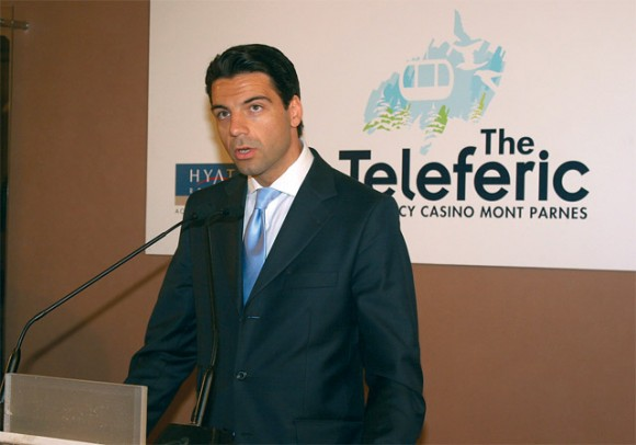 Nikos Stathopoulos, managing partner of BC Partners, the dominant shareholder of Hyatt Regency Hellas.