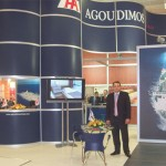 Agoudimos's sales and marketing manager Georgos Roumeliotis welcomed a barrage of consumers checking out the new season's schedules. As well, travel agents dropped by to compliment management on the FAM cruise the line held for provincial travel professionals this past summer to Bari on the renovated Ionian King and Ionian Queen ferries.
