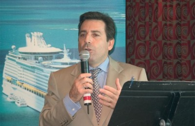 Andreas Stylianopoulos, general manager of Navigator Travel, the exclusive representative for Royal Caribbean International in Greece and Cyprus.