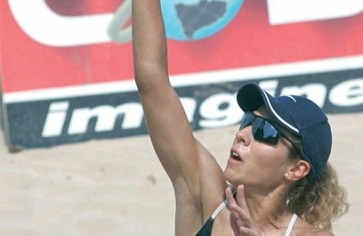 Mariana Hounda, one of the players of the sponsored team.