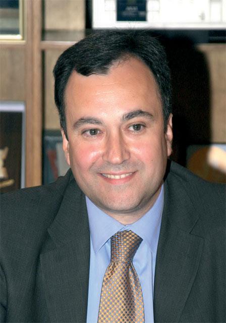 Helexpo President (Hellenic Exhibitions) Aristotelis Thomopoulos.