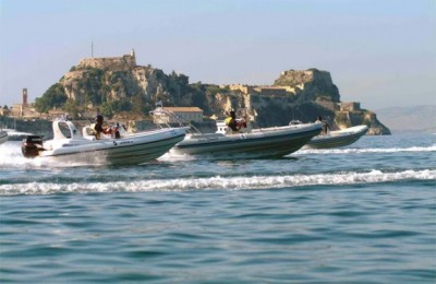 Corfu Hosts Inflatable Boat Races