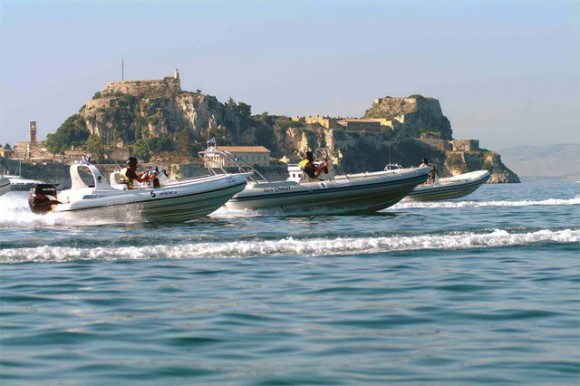 Corfu Hosts Inflatable Boat Races