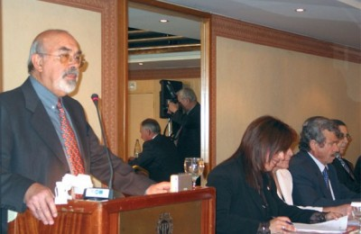 Business Federation of Rented Rooms and Apartments of Greece President Stelios Polykratis.