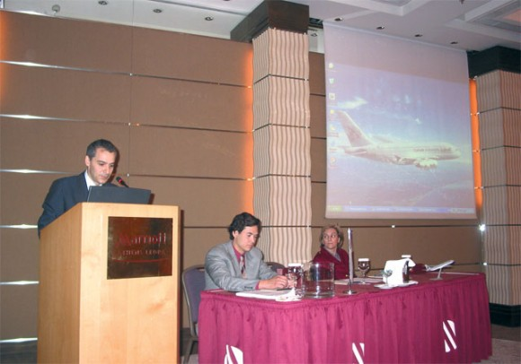 Qatar's sales team, headed by Alexandros Michalopoulos, organized a number of travel agency workshops last month to promote the airline's direct flights between Athens and Doha.