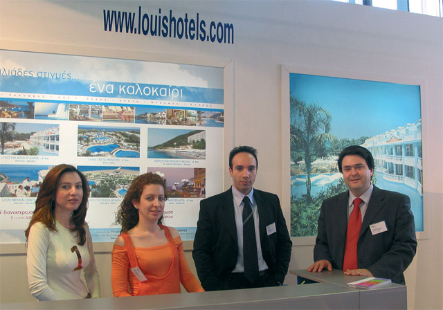 The Louis Group Parion At This Year S Fair Included Its Newest Company Hellenic Cruises