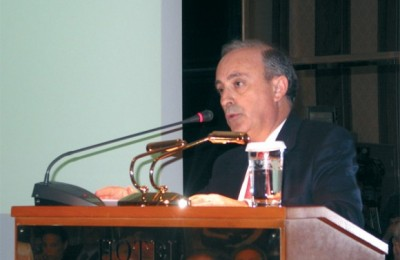 Vasileios Xenikakis, president of the Mont Parnes Casino, explains changes being made to the casino complex.