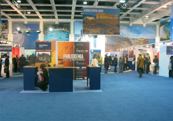 Philoxenia, very impressive stand for the first time participating at ITB.